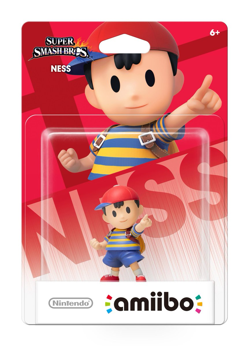 GameStop (@GameStop): Pre-order this exclusive #Ness #amiibo in-store and online starting tomorrow at 2pm CT! http://t.co/25PUmfrXfl http://t.co/uQ0Sk4mpM1