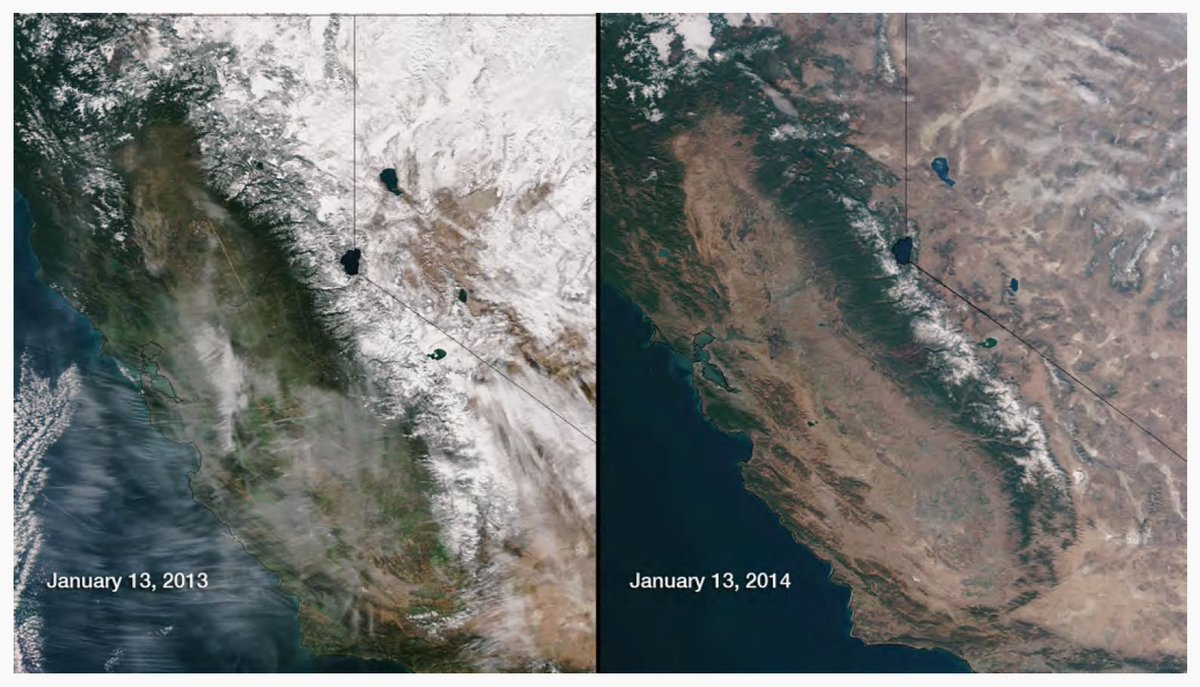 We are so screwed. RT @zseward: No snowpack in Sierra Nevadas for 1st time in at least 75 yrs http://t.co/vLyWbjVEv2 http://t.co/35MHqPO5FZ