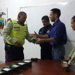 Realizamos entrega de material y herramientas a la coordinación de vigilancia y patrullaje de nuestra @iapoliciavial http://t.co/fvex1eZf8u