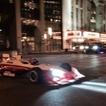 You know youre in Indy when a race car drives by Capitol Avenue. #finalfour http://t.co/W0tdlj5fhd