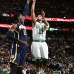 Evan Turners 3rd triple-double of the season was vital to @celtics 100-87 win over @Pacers. Hill had 21 for IND. http://t.co/EiY63epe75
