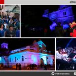#Cuenca se pintó de azul por el #DíaMundialdelAutismo.- http://t.co/564Fe40dtW http://t.co/eBuUmUnqF4