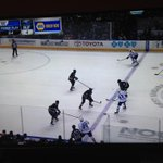 .@hsimon62, this would have resulted in a Lupul partial break. Called offside. You think the linesman is in on it?!? http://t.co/qxh21dQcrV