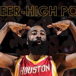 FEAR THE BEARD. James Harden is cooking as he sets new career high w/ 51 points. He posted 44 Pts last game vs Kings. http://t.co/8ymWcRsUKK