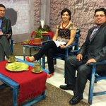 Ya en el #AjíTv para compartir noticias de nuestro trabajo. @UNSIONTV @AzuayPrefectura http://t.co/c4n2foUPlp