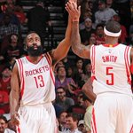 Rockets win! Beat Kings 115-111 behind Hardens career-high 51 points on 16-25 FG. Harden: 51p/8r/6a Ariza: 22p http://t.co/Bn5JOCXkcE