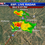 Scott Fisher Says: Still tracking some strong thunderstorms that can produce hail in Hays County. #ATX #austin http://t.co/ah9kmmJiGj