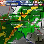 """@WQOW: Line of thunderstorms is very close to Eau Claire. #wiwx #news18 http://t.co/lHwDqfjoYj"" YES!!! Loving the thunder in Rock Falls!"