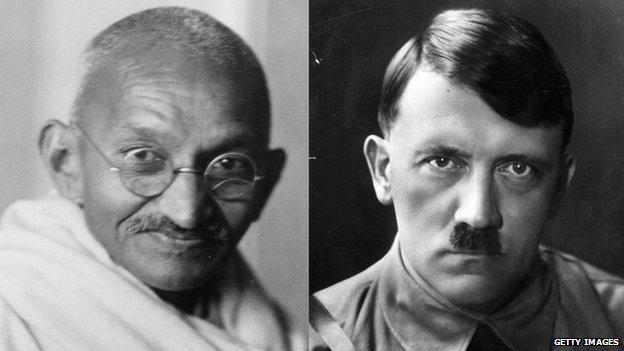 VIDEO: Mahatma Gandhi's letter to Adolf Hitler http://t.co/8DxCvltNyg via @BBCNewsnight