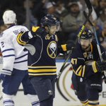 RT @hsjrphoto: GALLERY from the #Sabres 4-3 victory over Toronto. http://t.co/4g77sj4I7C http://t.co/pffjBcr0KY