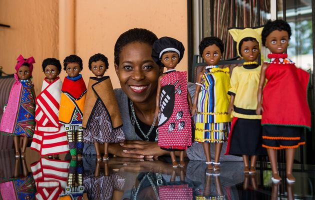 Bye-bye Barbie and hello black, beautiful dolls http://t.co/V64SXXbkEn http://t.co/ZCQjm62m3f