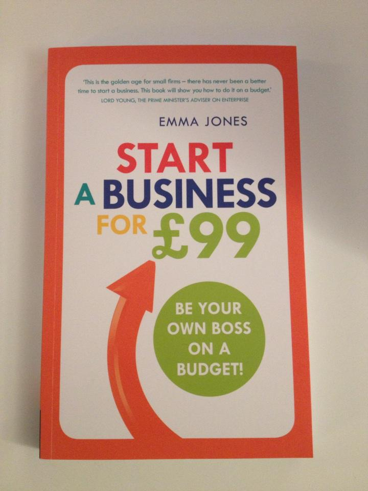 My new book out today. 'How to start a business for £99' (inc cost of book!) http://t.co/KkRmG0dBgQ http://t.co/xlvyybEESr