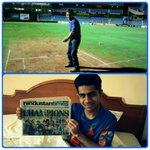 RT @manishbatavia: #ThisDayThatYear in 2011 and the morning after! Posing at the 'MSD WC Winning Six' spot at the Wankhede! #WeRemember htt…