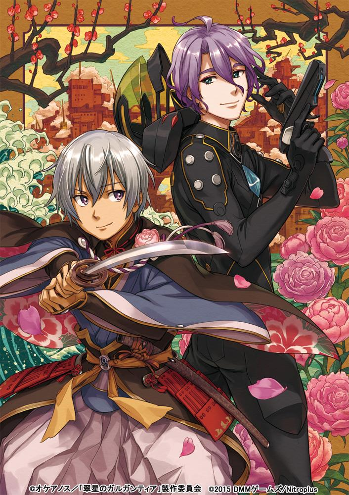 OVA後編公開直前!「刀剣乱舞-ONLINE-」とのコラボイラスト発表!歌仙兼定とレド共に石川界人さんが声を当てられてる