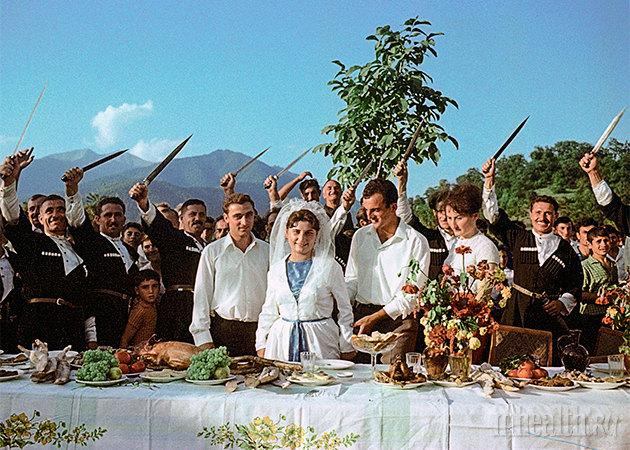 В Ашдоде прошла Большая кавказская свадьба Исроиль - Инф