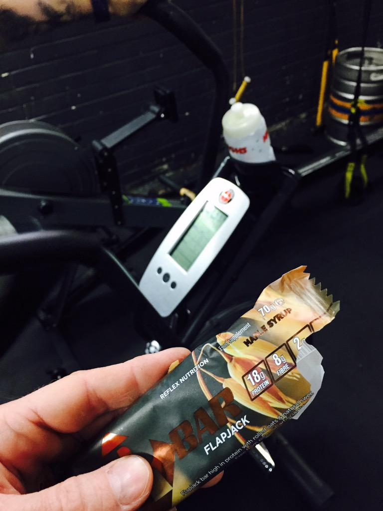 Testing out the new @ReflexNutrition #RBar #tasty