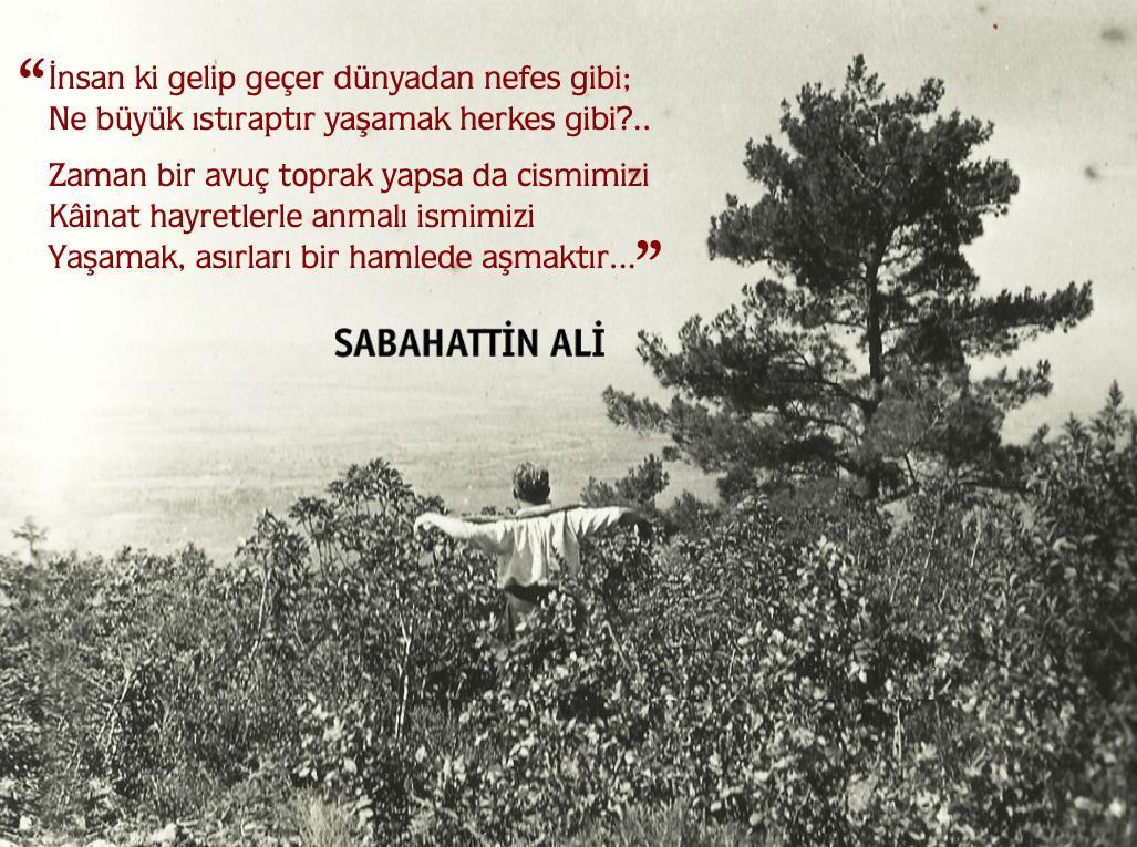 #SabahattinAli (25 Şubat 1907 - 2 Nisan 1948) http://t.co/ikNKm3d3x8