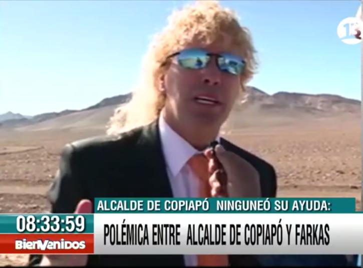 """#Bienvenidos13 (@Bienvenidos13): .@leonardofarkas: """"Vengo a ayudar a la gente de Atacama (…) No vengo a reelegir a políticos, me importan un bledo"""