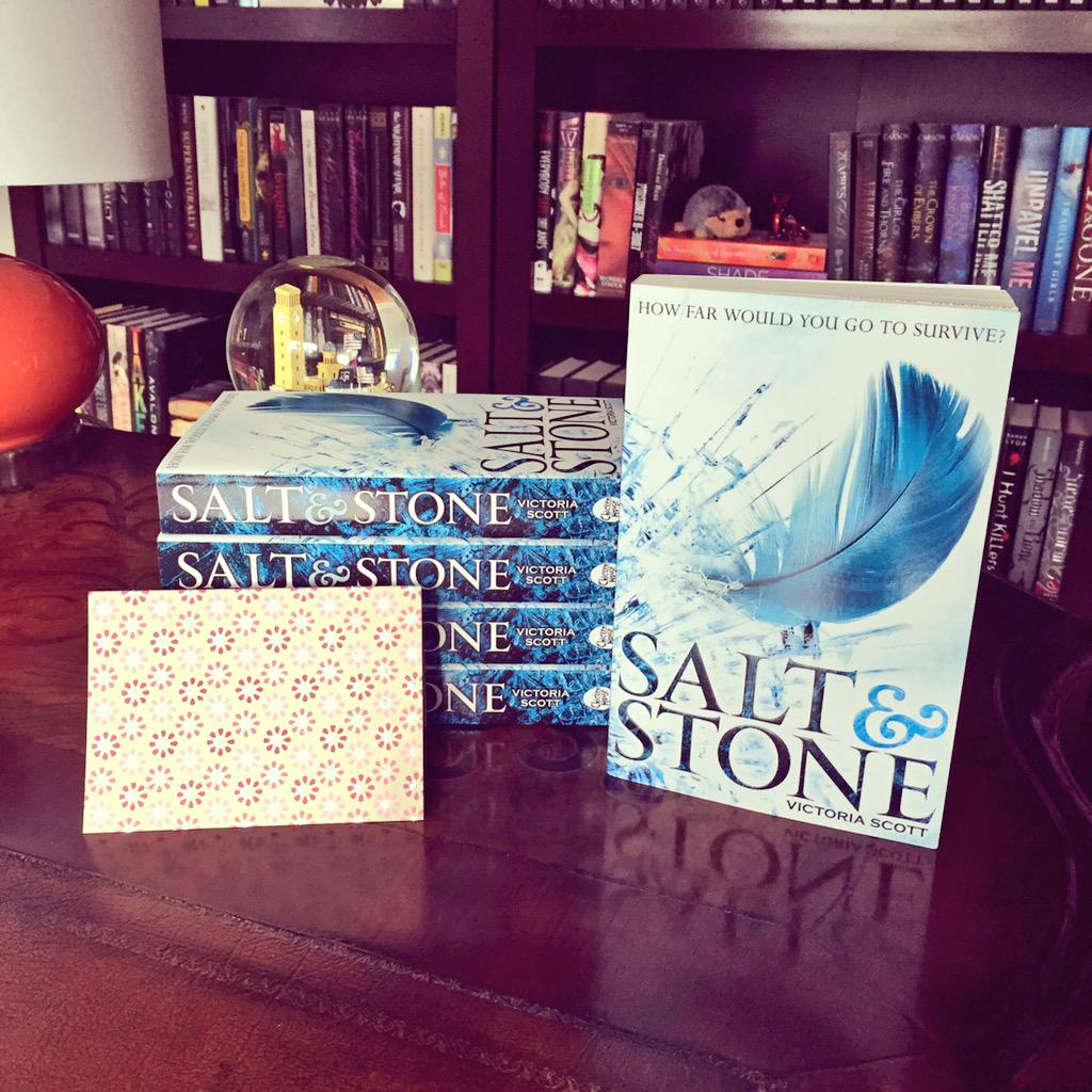 SALT & STONE releases in the UK today! RT to win a signed UK edition. International giveaway. Winner chosen  2/5. http://t.co/RdPWJKVwwK