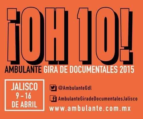 Ya es abril y en tiempo de @AmbulanteGdl - @Ambulante http://t.co/ZpXiVcRgxI