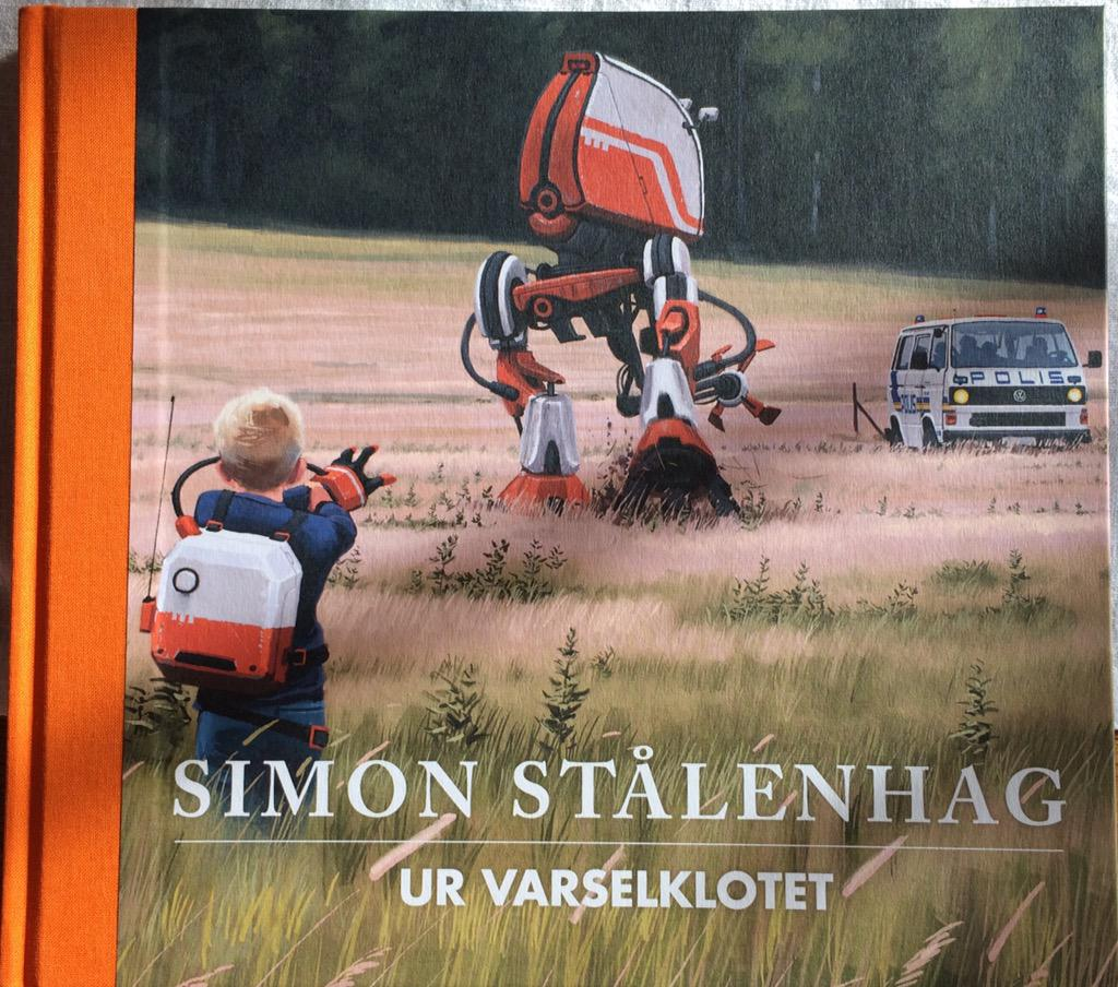 Ur Varselklotet is a beautiful book by @simonstalenhag and hopefully there will be an English translation. http://t.co/eVE8Zgjykh