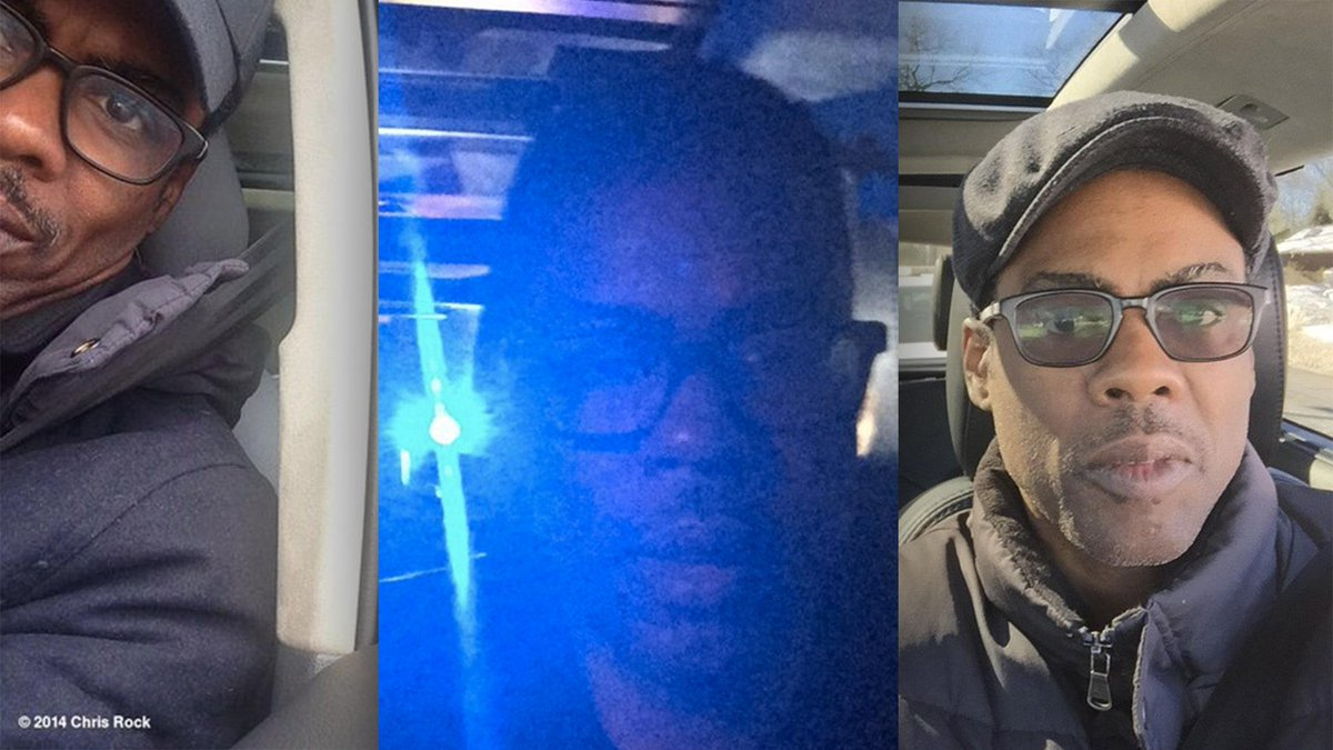Chris Rock is posting selfies every time he gets pulled over by police. http://t.co/3ddb6jStG7 http://t.co/ht0jNBLqXv via @Iron_Light