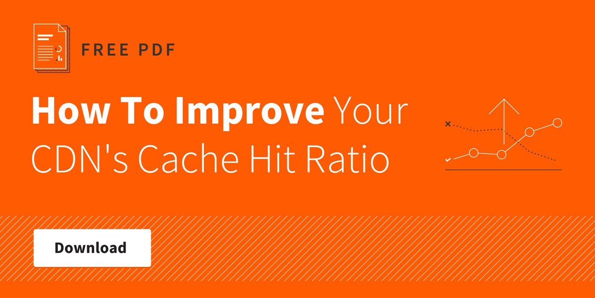 How To Improve Your CDN's Cache Hit Ratio [PDF] https://t.co/UiYAdaRs4F http://t.co/uiaku6wmVX