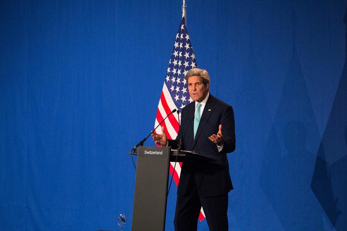 L'EPFL a accueilli la conférence de presse annonçant l'accord sur le nucléaire iranien, avec @JohnKerry #IranTalks http://t.co/svcUcoD56Z