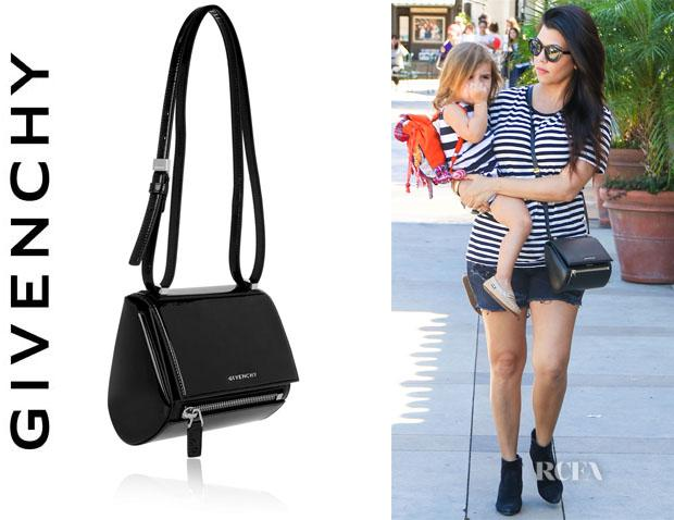 5c24f590ac Kourtney kardashian s givenchy  mini pandora  box bag - scoopnest.com