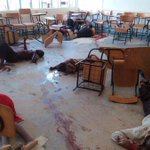 RT @Hopefield_Net: #KenyaAttack This happened to 147 human beings at a school in Kenya. If u think the world needs to know, re-tweet.