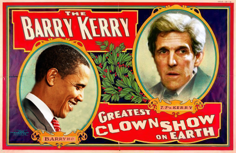 #IranTalks, #Obama & #Kerry presiding #USA Foreign Policy via @TheDemocrats ALways FAILS because: #ClownShow! #tcot . http://t.co/V55fKQIoTx