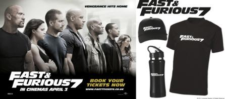 #WIN #Fast7 merchadise pack just FOLLOW&RT to enter. Winner picked on Mon after 5pm. Book your F&F tickets online now http://t.co/LjVTu5YJU2