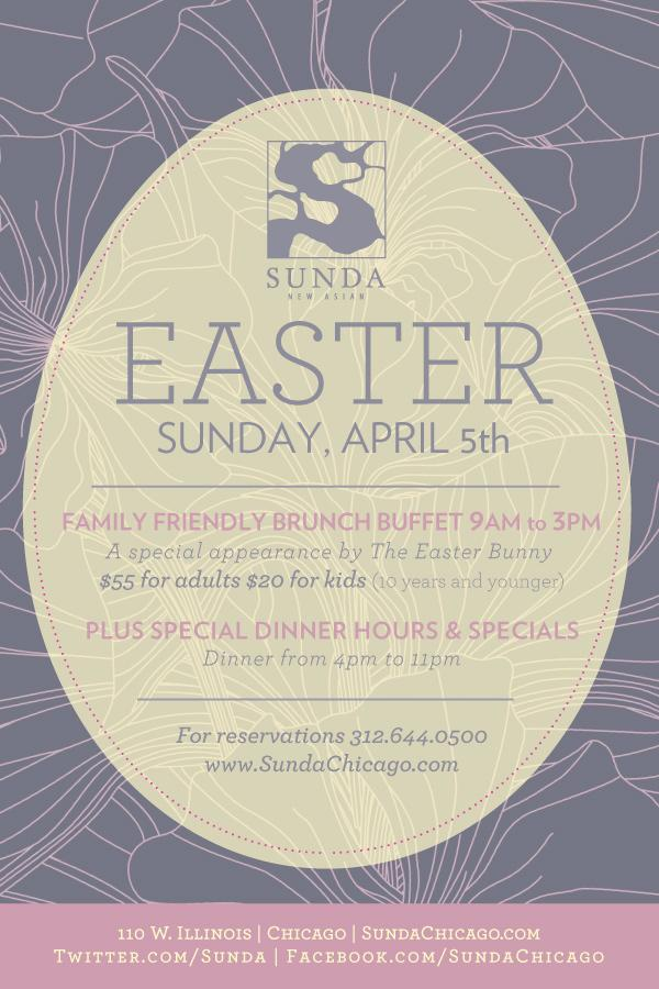 This Easter, join us for a family friendly brunch buffet 9am-3pm! We'll also have dinner specials 4pm-11pm! http://t.co/SkPhxtQBnH