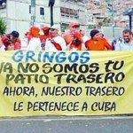 @GenPenaloza #Venezuela ya no es el patio trasero de EEUU..pues el chavismo la convertió en el patio trasero de Cuba http://t.co/6T6hYQ58kR