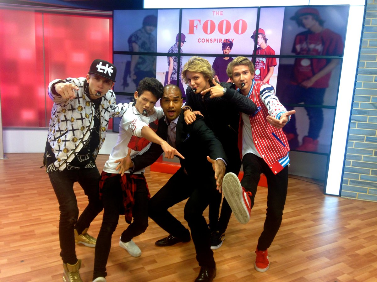 We think @JaredCotter's quitting the show & joining @thefooomusic on tour. #Foooer4Life #TheDailyBuzz http://t.co/7hShwN5sWS