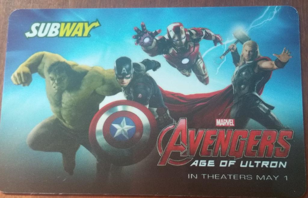 Subs?  Grinders? Hoagies? Heroes!   RT to win TWO @SUBWAY @Avengers #AgeOfUltron gift cards. #WhereSuperHeroesEat http://t.co/P0XBovaDEG