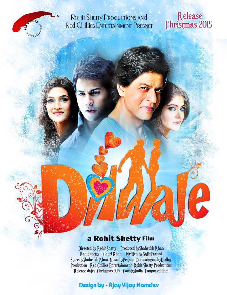 Dilwale 2015 Hindi 720p Blu-Ray x264 AAC 5 1 ESub-HDSector