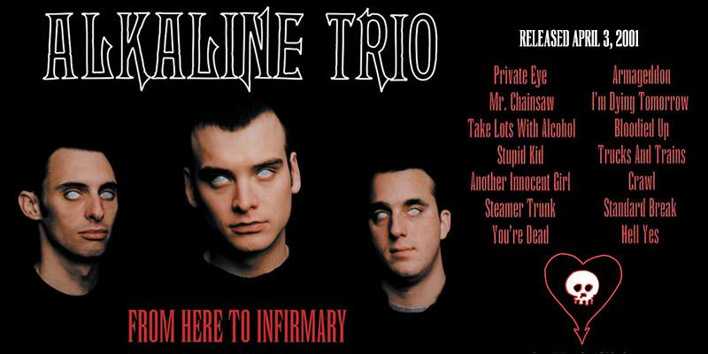 From Here to Infirmary was released on this day in 2001! http://t.co/9JhJa39nB2