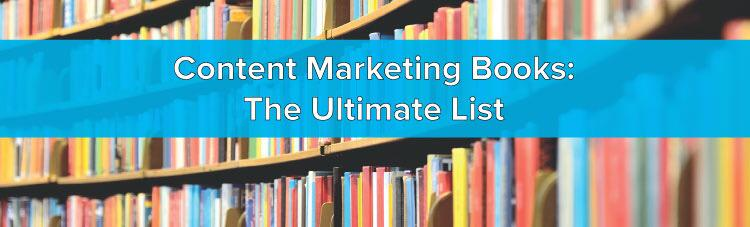 Content #Marketing Books: The Ultimate List - http://t.co/u7RalN8jIs #ContentMarketing http://t.co/23O4de82t8