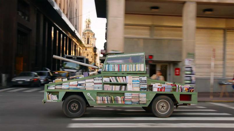 Tank-shaped Bookmobile is a Weapon of Mass Instruction http://t.co/uftcjqXe35 http://t.co/9PGZDnBfOx