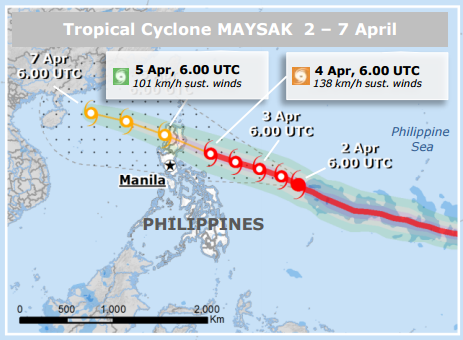 #Philippines: This weekend check our #TyphoonMaysak page as #ChedengPH approaches http://t.co/W1MlUNvMP6 v @eu_echo http://t.co/JlJLLJCsy0