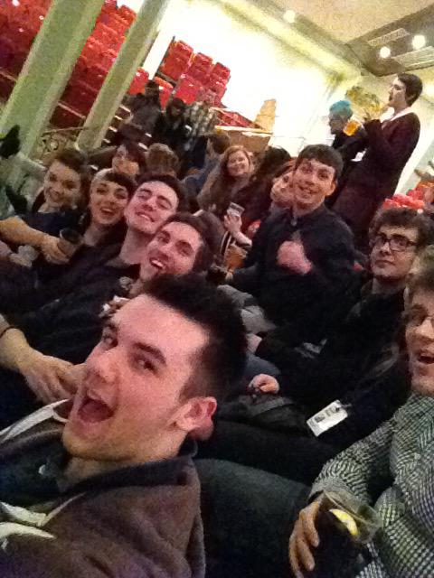 @NSDFest @NsdfTech Tech Team Selfie at the NSDF Awards!! #NSDFTech15 http://t.co/f1i3HYg85T