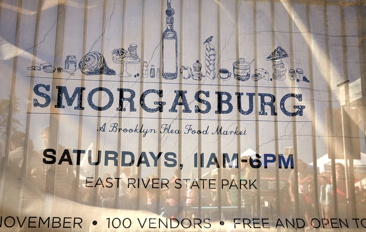 Spring is here! Smorg returns today in East River State Park from 11am to 6pm. #Smorg2015 http://t.co/7WnNIRGD40