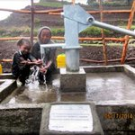 To everyone who helped me fund this @charitywater well in Ethiopia: THANK YOU. 150 people now have clean drinking H20