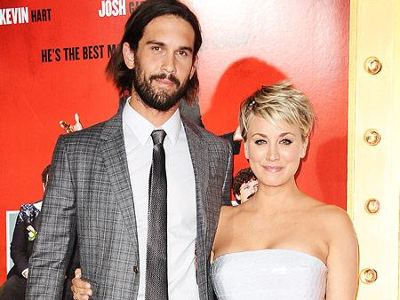 Big Bang Theory's Kaley Cuoco addresses divorce rumors