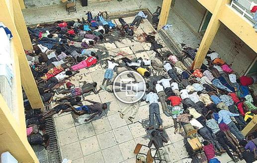 Portiamo dentro di noi questa foto. Non so come dirlo: almeno facciamoci invadere di umanità #GarissaAttack http://t.co/Ns4HX7qqfj