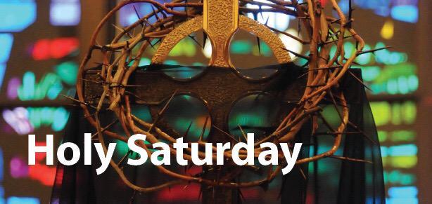 Holy Saturday: In stillness and silence we await the Resurrection #HolySaturday http://t.co/tVsnmyoyek