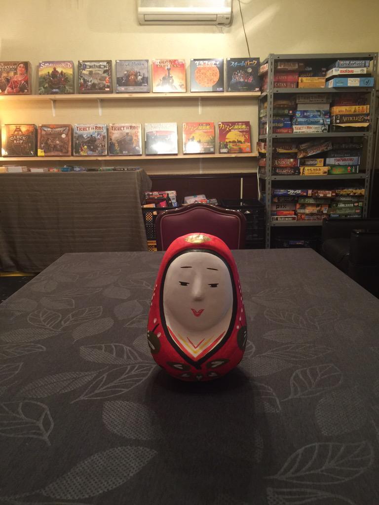姫だるまさんが届きました(歓喜) カブの後ろに載せたい・・・!! http://t.co/Vny1X1yPjt