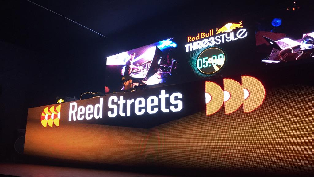 We here - Send all positive energy and vibes to @djjespinosa competing next @RedBull3Style #3STYLE @redbullAZ http://t.co/2o9SSa5R8a