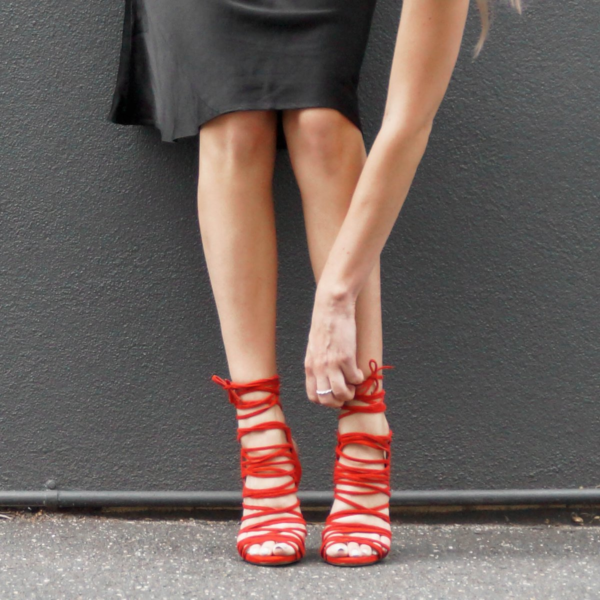 Red HOT #PreOrder 'AVAR' in Red Kid Suede  Get your little tootsies into these bad boys! #Love http://t.co/vq0bO4MWtg